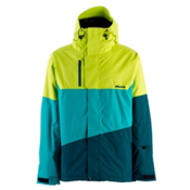Armada REM Mens Insulated Ski Jacket, Lime, medium