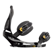 Burton Custom EST Snowboard Bindings, Black, medium