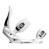 Burton Custom EST Snowboard Bindings 2013, White, medium