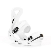 Burton Custom Snowboard Bindings 2013, White, medium