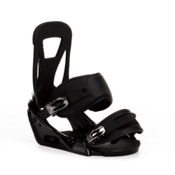Burton Freestyle Snowboard Bindings 2013, Black, medium