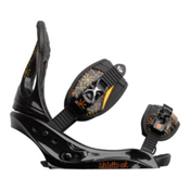 Burton Stiletto EST Womens Snowboard Bindings 2013, Black, medium