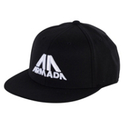 Armada Teeter 210 FlexFit Mens Hat, Black, medium