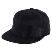 Armada Icon 210 FlexFit Mens Hat, Black, medium