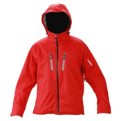 Descente Guide Mens Insulated Ski Jacket, Ruby, medium