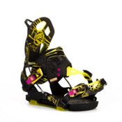 Flow NX2-SE Snowboard Bindings 2013, Blacklight, medium