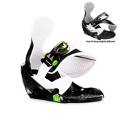 Burton Grom Kids Snowboard Bindings 2013, Black, medium