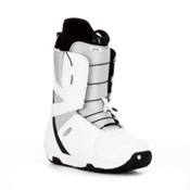 Burton Moto Snowboard Boots 2013, White-Gray-Black, medium
