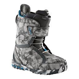 Burton Axel Womens Snowboard Boots, Gray-Blue, 256