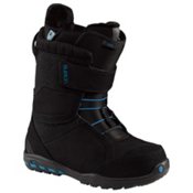 Burton Axel Womens Snowboard Boots, Black-Blue, medium