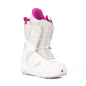 Burton Mint Womens Snowboard Boots 2013, White-Gray-Pink, medium