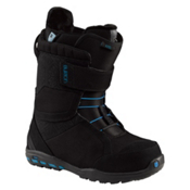Burton Mint Womens Snowboard Boots, Black-White, medium