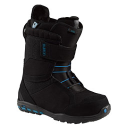Burton Mint Womens Snowboard Boots, Black-White, 256