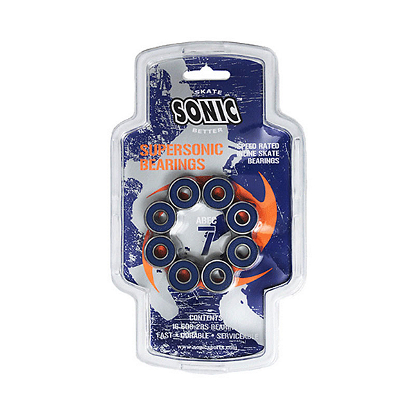 Sonic Supersonic ABEC7 Skate Bearings, , 600