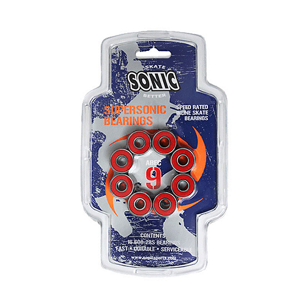 Sonic Supersonic ABEC9 Skate Bearings, , 600