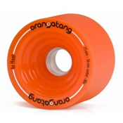 Orangatang In Heat Skateboard Wheels - 4 Pack, 80a, medium