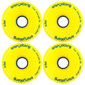 Orangatang In Heat Skateboard Wheels - 4 Pack, 86a, medium