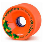 Orangatang Durian Skateboard Wheels - 4 Pack, 80a, medium