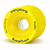 Orangatang 4 President Skateboard Wheels Skateboard Wheels - 4 Pack, 70mm, medium