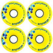 Orangatang Stimulus Skateboard Wheels - 4 Pack, 86a, medium