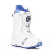 Burton Bootique Womens Snowboard Boots 2013, White-Blue, medium