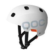 POC Receptor Flow Mens Skate Helmet, White, medium