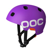 POC Receptor Flow Mens Skate Helmet, Purple, medium