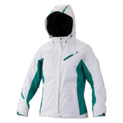 Descente Kelsey Womens Insulated Ski Jacket, Super White, medium