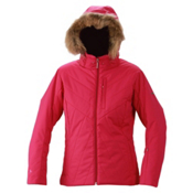 Descente Sarah Womens Insulated Ski Jacket, Iris, medium