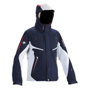Descente Swiss World Cup Mens Insulated Ski Jacket, Dark Navy, medium