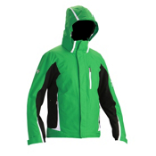 Descente Charger Mens Insulated Ski Jacket, Ever Green, medium