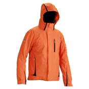 Descente Charger Mens Insulated Ski Jacket, Carrot, medium