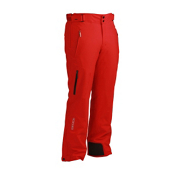 Descente Peak Waist Mens Ski Pants, Electric Red, medium
