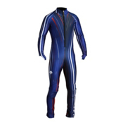 Descente Janka GS Race Suit, Blue Moon Lightning 3d Print, medium