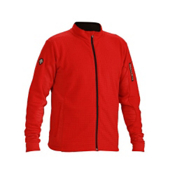 Descente Mark Full Zip Mens Jacket, Electric Red, medium