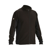 Descente Mark Full Zip Mens Jacket, Black, medium