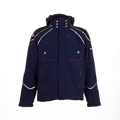 Descente Spain World Class Mens Insulated Ski Jacket, Dark Navy, medium