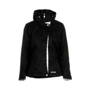 DNA Zoe Womens Insulated Ski Jacket, Black, medium