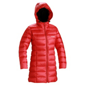 DNA Erika Long Length Womens Jacket, Ruby, medium