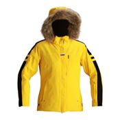 Descente Madrid Womens Insulated Ski Jacket, Canary, medium
