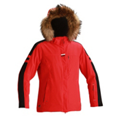 Descente Madrid Womens Insulated Ski Jacket, Electric Red, medium