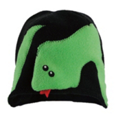 32 DEGREES Snake Toddlers Hat, Lime Green, medium