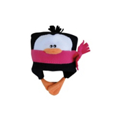 32 DEGREES Penguin Toddlers Hat, Hot Pink, medium