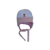 32 DEGREES Snowman Toddlers Hat, Light Pink, medium