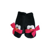 32 DEGREES Penguin Toddlers Mittens, Hot Pink, medium