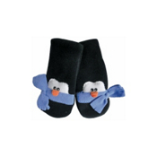 32 DEGREES Penguin Toddlers Mittens, Sky Blue, medium