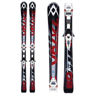 Volkl RTM 80 Skis with Marker iPT Wideride 12 Bindings, , large