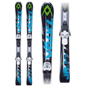 Volkl RTM Jr. 7.0 Kids Skis with Marker 3 Motion 7.0 Bindings 2013, , medium