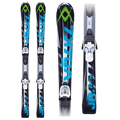 Volkl RTM Jr. 7.0 Kids Skis with Marker 3 Motion 7.0 Bindings, , large