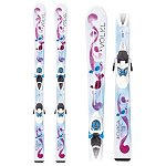 Volkl Chica 4.5 Kids Skis with Marker 3 Motion Jr 4.5 Bindings 2013